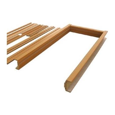 cadre de porte complet en chene 20cm centrale brico. Black Bedroom Furniture Sets. Home Design Ideas