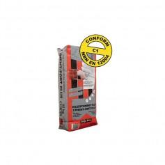 CimentFortPlus/Gris/C1/25Kg/Compaktuna