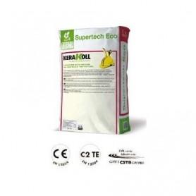 Supertech Eco /Flex Gris/25Kg/ C2TE/10 SAC/Kerakoll