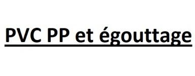PVC & PVC PP & égouttage