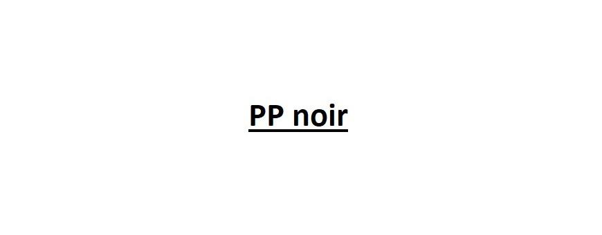 PP noir