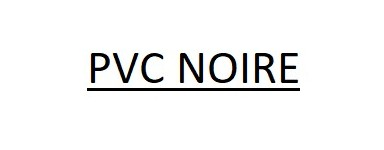 PVC NOIRE