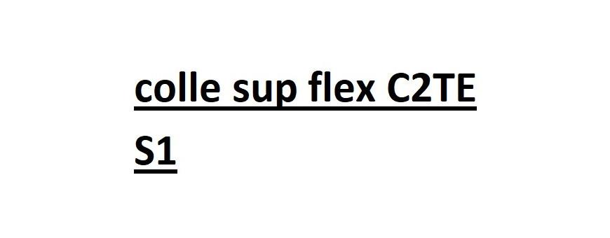 Colle Sup. Flex C2TE S1