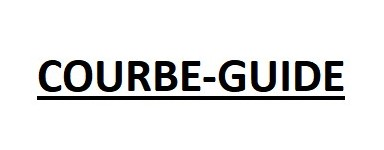 COURBE-GUIDE